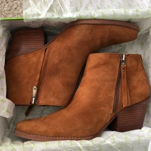 Sam Edelman Walden Booties Worn Once sz 8